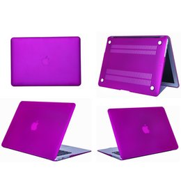 "Wholesale Macbook Pro 11 Case - Plastic Hard Shell Cover Case [Matte] For Apple Macbook Air Pro Retina 11.6"" 13.3"" 15.4"" A1370 A1465 A1369 A1466 A1278 1286 A1398 A1425"