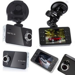 Wholesale Hd Vehicle Dvr Camera - K6000 Car DVR Night Vision Camera Cheap 2.4'' Vehicle Recorder Digital Video Recorder Car Camera car dvr