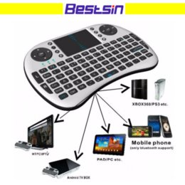 Wholesale adapter for keyboard - Air Mouse Combo 2.4G Mini i8 Wireless Keyboard,Touchpad combo with interface adapter for PC Pad Google Andriod TV Box Xbox360 PS3