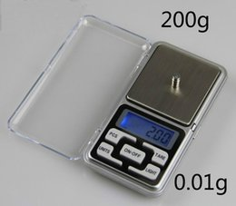 Wholesale Diamond Weighing Scales - Hot sale 200g x 0.01g Mini Digital Scale LCD Electronic Capacity Balance Diamond Jewelry Weight Weighing Pocket Scales