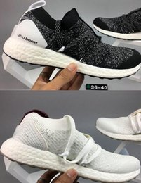 Wholesale Popular Shoes For Men - Very popular 2018 fashion Ultra boost shoes for women mens soft sole Breathability knit outdoor Shoes ladies shoes 2018 size 36-45