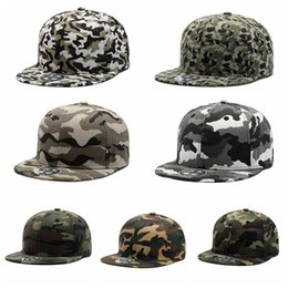 Wholesale Cp Hat Wholesale - 7 Colors New Fashion Hip Hop Camouflage Snapback Cap ACU CP Desert Camouflage Hats Tactical Cap Army Tactical Baseball Hat