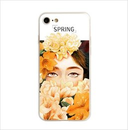Wholesale New Original Creative Art Four Seasons Protective Cover For Iphone7plus Painting Sculpture Two In One Cell Phone Shell