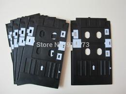 Wholesale Epson Tray - Wholesale- 10pcs Inkjet PVC card tray for epson R260 R265 R270 R280 R285 R290 R380 R390 Rx680 T50 T60 A50 P50 L800 L801 Px635 Px650 Px660