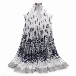 Wholesale Cheap Scarf Ring Wholesale - 2017 Classic paisley fashion women spring autumn lady scarf wraps factory directly cheap 10pc lot
