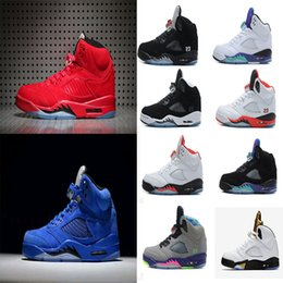 Wholesale Air retro men Basketball Shoes Olympic OG metallic Gold Raging Bull Red blue Suede Black Metallic Space jam Fire Red Sport Sneakers