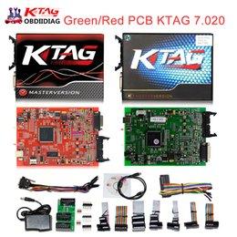 Wholesale Honda Ecu Chip - 2017 Online Master Ktag V7.020 V2.23 No Token Limit K Tag 7.020 7020 ECU Programmer K-Tag ECU Chip Tuning Tool Gifts ECM Winols