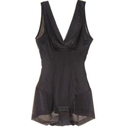 Wholesale Shape Wear Dresses - Wholesale- Women Body Shape Tummy Control Vest Dress Skirt Slip Under bust Shape wear