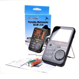 Wholesale Musical Devices - Drum Universal Electronic Metronome Metro-Tuner Rhythm Device WSM-240 Musical Instruments Accessories free shipping