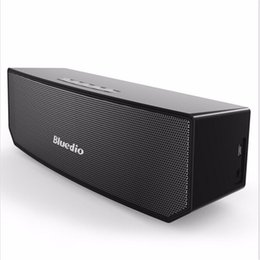 Wholesale Seal Driver - Bluedio BS-3 (Camel) Portable Bluetooth speaker wireless Subwoofer Soundbar Revolution Magnetic driver 3D stereo music with retail box
