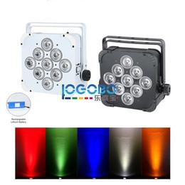 2 unids / lote LED Uplight DMX Par Can alimentado por batería inalámbrico 9x15W RGBAW Wedding Party Stage DJ Iglesia Teatro efecto decorativo Uplighting desde fabricantes