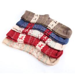 Wholesale Tube Socks Hot - Wholesale- Women Wool Socks Cashmere Warm Soft Thick Casual Multicolor Winter Tube Socks 1 Pairs Hot