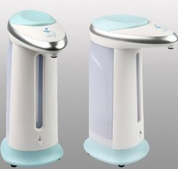 Wholesale Hands Free Liquid Soap Dispenser - Automatic Induction Sensor Soap Dispenser Liquid Soap Dispenser Automatic Automatic Soap Magic Hands-free Dispenser CCA7719 30pcs