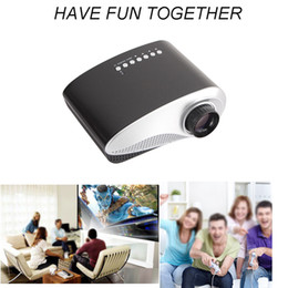 Wholesale Hdmi Lead Usb Port - Wholesale-SZDLDT Portable Projector Mini Pico Video Home Theater LED proyector HDMI,AV,VGA,USB,AV Ports Projecteur for Watching Videos