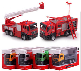 Wholesale Cement Truck Toy - educational toys for children cementing truck set model car