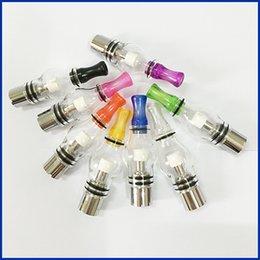 Wholesale Ego Series Pen - Glass Globe Atomizer Dry Herb Vaporizer Clearomizer Wax Tank Pen Vapor for Ego Series Electronic Cigarettes