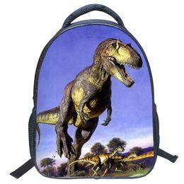 Wholesale Dinosaurs Bags - Kids Backpack Boys Cartoon Backpack Kid Book Bag Dinosaur Pattern Boy Girl Student Schoolbag Shoulder Satchel Gift ZF0435