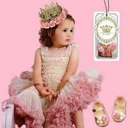 Wholesale Cheap Girls Tutus Wholesale - Baby Girls Tutu Skirt Fluffy Children Ballet Kids Pettiskirt Baby Girl Skirts Princess Tulle Party Dance Skirts For Girls Cheap