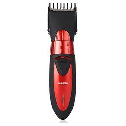 Wholesale Haircut Beard Trimmer - Pro Electric Hair Clipper Rechargeable Hair Trimmer Hair Cutting Machine To Haircut Beard Trimer Waterproof +B