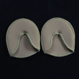 Wholesale Dance Heel Protector - foot care toe dance protector insoles half pad pads sponge silicone gel support ballet shoes covers high heel shoe women F20171090
