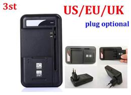 chargeur usb universel pour port usb Promotion 100pcs / lot * 3ème 2 en 1 Chargeur de batterie universel mobile multifonctionnel dock YIBOYUAN pour téléphones mobiles Port USB