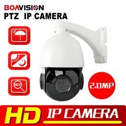 Wholesale Speed Dome Camera Waterproof - 1080P PTZ IP Camera Outdoor Onvif 30X ZOOM Waterproof Mini Speed Dome Camera H.264 IR-CUT IR 50M P2P CCTV Security Camera