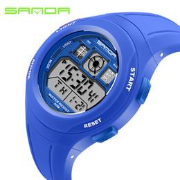 15af6e7ace9 SANDA Crianças Relógios Miúdos Bonitos Relógios Para Meninos Das Meninas De  Borracha Digital de Crianças LED Relógios de Pulso Reloj Relogio Masculino  Saat