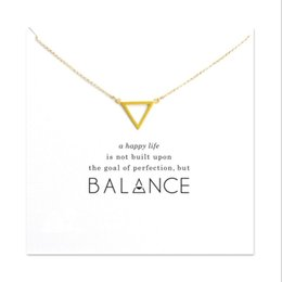 Wholesale Triple Gold Necklace - Hot Sale Sparkling triple karma round gold color plated Pendant necklace Clavicle Chain Fashion Statement Necklace Women Jewelry