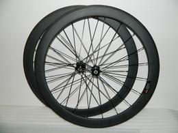 Oem rodas de carbono on-line-Bicicletas de rodas de carbono 700c 50mm OEM clincher carbono rodas para roda de bicicleta de estrada novatec hubs 23mm de largura jantes de estrada de carbono bicicleta
