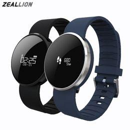 Wholesale Mix Kids Watch - UW1S Smart Watch Sport Bracelet Heart Rate Calls SMS Remind IP67 Waterproof Pedometer FitnessTracker Blood Pressure Wristband Mix Colors