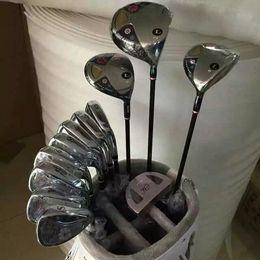 Wholesale Golf Complete Sets - Women Golf Clubs man FL Set Driver + Fairway Woods + Irons + Putter Bag Graphite Shaft L-Flex With Head Cover