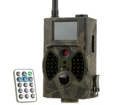 Wholesale Mms Digital Scouting Camera - HC300M Hunting Camera GPRS MMS SMS Digital Infrared Trail Camera Scouting Surveillance Hunting Camera 940NM IR LED