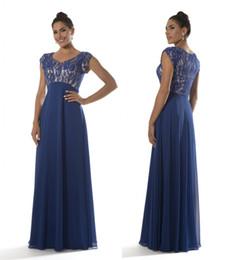 5e914ae0e03 Robe bleu royal pleine longueur en Ligne-Royal Blue Modest robes de  demoiselle d