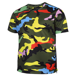 Wholesale Polyester Tshirts - 3D T shirts Camouflage T-shirt Men Women Zipper Tshirts 3d T shirt Army Fashion Tops Tees Summer Shirts Hombres Camisetas