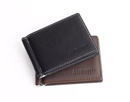 Wholesale Head Photo - New Men Wallet Head layer cowhide Purse Pure Leather Wallet Creidit With 6 Card Slots Coin Bag