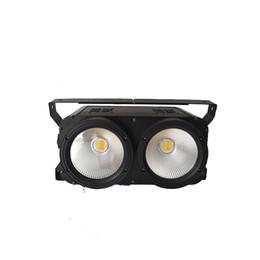 Conduttrice principale online-Luminosità elevata PANNOCCHIA IP20 led STAGE LIGHT 2 Occhi bianco freddo + Bianco caldo / 2x100W bianco opaco bianco 2 in 1 Stage Led Audience led blinder Light