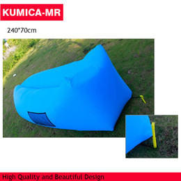 Wholesale Fast Inflatable Camping hot Sleeping Bag Sofa Bed Lazy Waterproof Lounger Chair inflatable air sofa lounger sofa