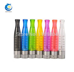 Wholesale Cheap Ego Vapor Cigarettes - Wholesale- Electronic Cigarette EGO GS H2 Atomizer 8 Colors vapor H2 Clearomizer Fits on EGO Battery 510 e cigarette cheap price 50pcs