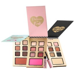 Wholesale Beauty Night Wholesale - Top Quality !Faced best year ever set 3 kinds to choose i believe in pink super fun night and natural beauty 7 colors eyeshadow best price
