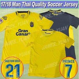 Wholesale Prince Homes - 17 18 Las Palmas soccer jersey shirt Thai quality shirts 2017 2018 PRINCE JESE VALERON home away Football jerseys Shirt Uniforms