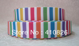 Wholesale Wholesale Easter Grosgrain Ribbon - ribbon 7 8inch 22mm 1125024 Easter day webbing printed grosgrain ribbon 10yards roll for headband hair tie free shipping
