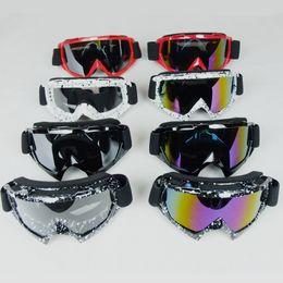 Wholesale Ski Helmet Glasses - motorista gafas off road motocross ktm glasses motorcycle goggles snowboard glasses men snowboard ski goggles moto helmet goggle