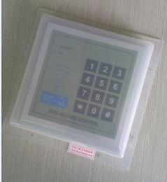 Wholesale Outdoor Keypad - Wholesale- ABS rain water proof outdoor closure cover case for fingerprint attendance RFID access control keypad reader intercom