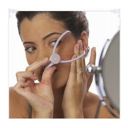Wholesale women hair system - Epilator Beauty Tool Facial And Body Hair Remover Epilator Manually Threading System High Quality Cheek Hair Remover For Woman Easy To Use