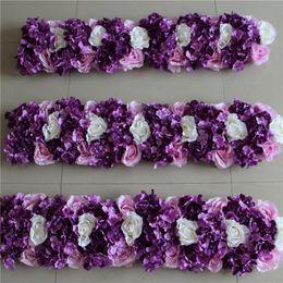017 centro del fiore del fiore del fiore del fiore dell'arco del fiore dell'arco del fiore del fondale di fila di cerimonia nuziale del fiore di alta qualità libera il trasporto da archi decorativi all'ingrosso fornitori