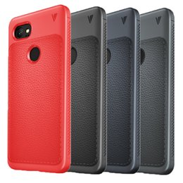 Wholesale Iphone Google Phone - For Google Pixel 2 Case Hybrid Soft TPU Rugged Back Cover Phone Case for google pixel 2