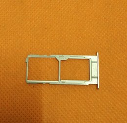 Wholesale S3 Sim Card Tray - Wholesale- Original Sim Card Holder Tray Card Slot for Elephone S3 MT6753 Octa Core 5.2 Inch FHD free shipping
