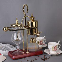 Wholesale Royal Coffee Balance - J design water drop Royal balancing siphon coffee machine belgium coffee maker syphon vacumm coffee brewer