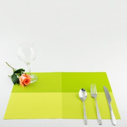 Wholesale American Din - Wholesale- Fashion American placemat table mat Western pad Placemats Dinning Waterproof Table mat Non-Slip Heat Resistant Mats WM-004