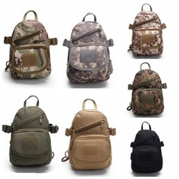 Wholesale Chest Coolers - Outdoor Tactical Backpack Chest Bag Shoulder Bags Single Shoulder Bag Outdoor Sports Motorcycle Ride Bicycle Cool Camping hiking Bag New